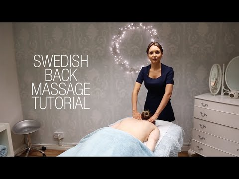 Basic Swedish Back Massage Techniques Relaxing Step by Step Guide