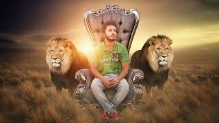Lion King | Photoshop Manipulation Tutorial | Fantasy Light Photo Effects