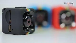 15$! Review Micro Camera SQ11 + Night Vision + Camcorder HD!