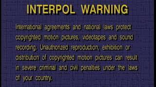 FBI Interpol Warning (1999)