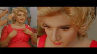REMO - Sivakarthikeyan's Makeup for Marilyn Monroe look  | Keerthy Suresh | Anirudh Ravichander