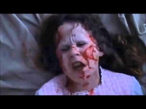 La niña del exorcista quiere una relaxing cup of café con leche (parodia)