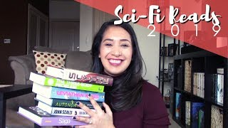 SCI-FI BOOKS I WANT TO READ IN 2019 || December 2018