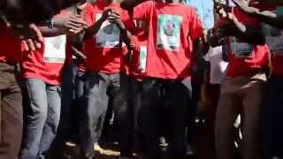 Burial of Gor Mahia Family branch member, Emmanuel Ogola at his home in Sakwa Bondo.