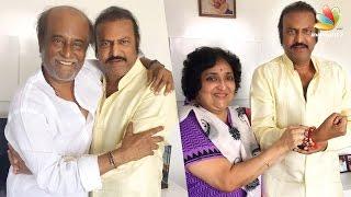Rajinikanth Looks Like a King: Mohan Babu | Latest Tamil Cinema News