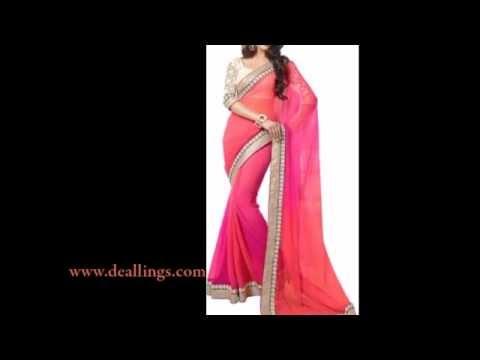 Fancy Designer Women Saree India - Online Store