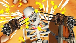 Wolverine Claws!! - Gorn Gameplay - HTC Vive VR
