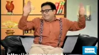 "Azizi performing ""Parde Main Rehne Do"" after the performance of Altaf Bhai."