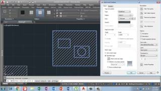 How to apply Hatch command in Auto cad 2017 in Urdu/Hindi