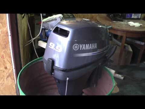 видео обкатка лодочного мотора ямаха 15