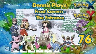Pokemon Y Walkthrough (Ep 76) Frost Cavern - The Entrance