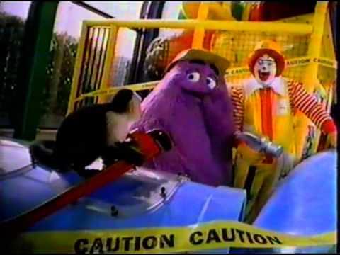 McDonald s Play Place & Disney s Animal Kingdom Toys Ad