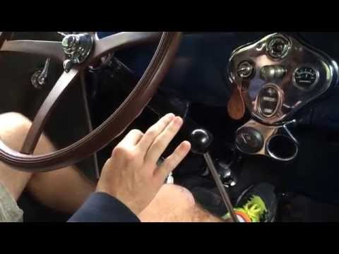 How to Start and Drive 1928 Ford Model A Tudor Sedan