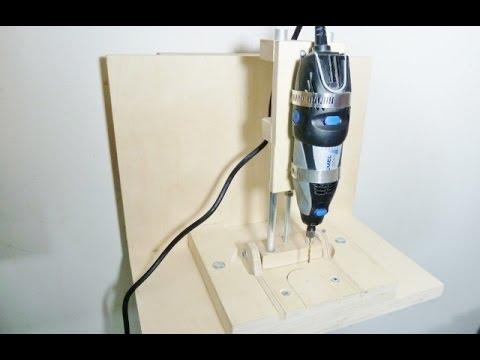 Making a horizontal vertical mini drill press
