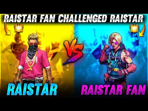 Raistar Fan Challenged Raistar What 😳😲 Garena Free Fire