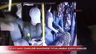 Turkish women fighting sexual harasser on bus