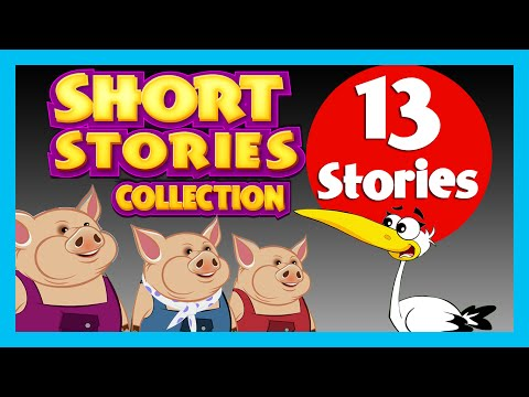 SHORT STORY for CHILDREN in ENGLISH (13 Moral Stories) | BEDTIME STORIES In ENGLISH