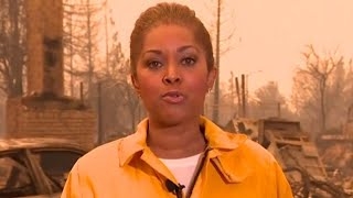 California wildfires leave trail of destroyed homes
