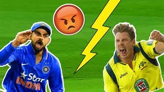 India vs Australia Sledging Moments- Best of Ind vs Aus Rivalry Moments In Cricket