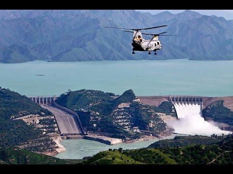 Flying towards Tarbela Dam - Vlog # 2016.12.25