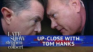 Tom Hanks Gets Extremely Personal With Stephen Colbert