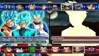 Super Saiyajin´s Blue VS Five Random - Dragon Ball Z Budokai Tenkaichi 3