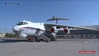Iran Air force personnel Overhaul Ilyushin II-76 cargo plane, Shiraz Tactical Airbase