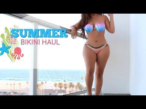 Beach Condo Bikini Try On l MISSSPERU