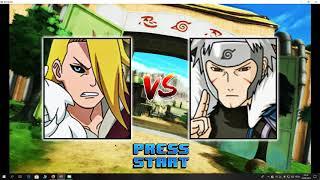 Naruto Konoha Legends M.U.G.E.N - Arcade - Deidara Edo Tensei