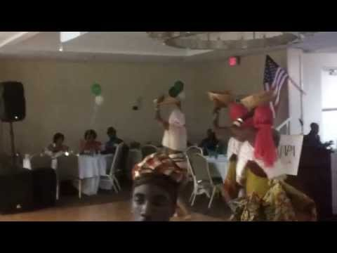 LILYCENT OBGUAGU AND CREW Hausa dance