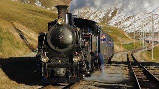 Steam on the Oberalp Pass (Switzerland) – Part 1