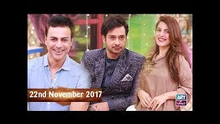 Salam Zindagi With Faysal Qureshi - Faisal Naqvi & Kiran Khan - 22nd November 2017