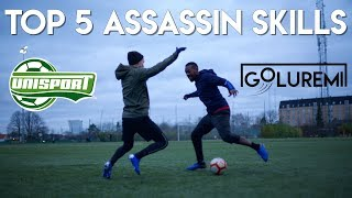 5 ATTACKER SKILLS - THE ONLY ATTACKING SKILLS YOU NEED Ft. UNISPORT