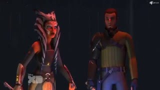 Ahsoka Tano and Kanan vs Darth Maul