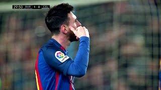 نجم برشلونة ( ليونيل ميسي ) اهداف مع اغنيه 2017 الجزء الثاني