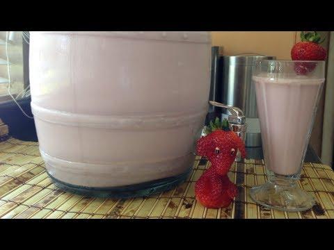 Horchata De Fresa deliciosa