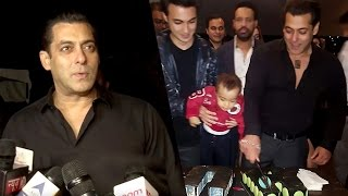 Salman Khan 51st birthday FULL PARTY