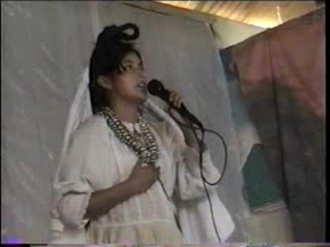 San Juan Ixcoy.Princesa Flor De Manzana 2008 En K`anjob`al