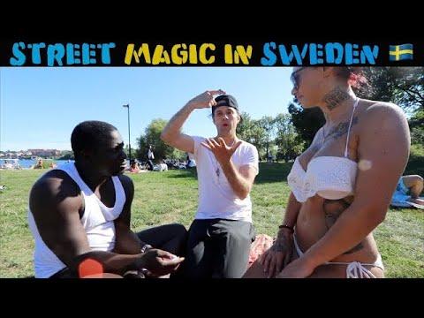 Swedish girls reacts to magic 🇸🇪 Julien Magic