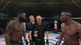 UFC 3 CURTIS BLAYDES VS FRANCIS NGANNOU UFC FIGHT NIGHT 141