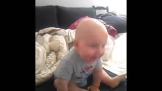 Kubus I mucha w mucholocie.  8 miesięcy.
