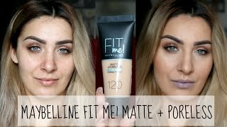 Maybelline FIT me! Matte + Poreless puder ♥ prvi dojmovi