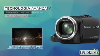 Panasonic | Videocamera compatta Full HD | HC-V180