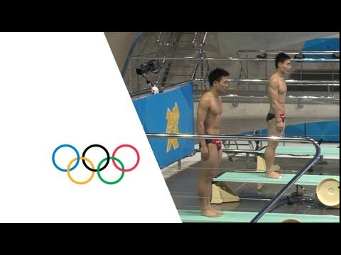 China Gold Men s Synchronized 3m Springboard London 2012 Olympics