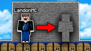 I AM STONE Challenge MOD?!? (Minecraft)