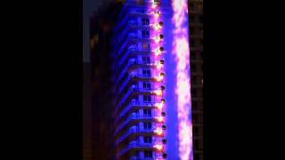 3D Building Projection on Fontainebleau South Beach Miami