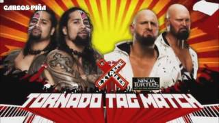 WWE Extreme Rules 2016 Match Card Full.