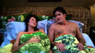 Charlie & Chelsea Sex Scene | Two and a Half Men | S07 E09