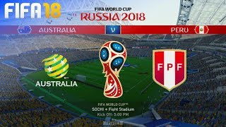 FIFA 18 World Cup - Australia vs. Peru @ Fisht Stadium (Group C)