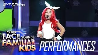 Your Face Sounds Familiar Kids Finale: Lyca Gairanod as Yeng Constantino - Time In